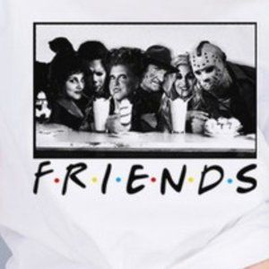 """Caramelo trend Tops - """"FRIENDS"""" Scary Tshirt"""